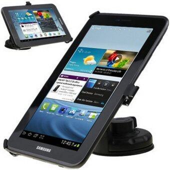 V SHOW In-Car Mobile Holder For Samsung Galaxy Tab 2 (7.0) / P3100(Black) - intl