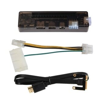 V8.0 EXP GDC PCI-E Video Card Dock Laptop External for Beast MiniPCI-E - intl