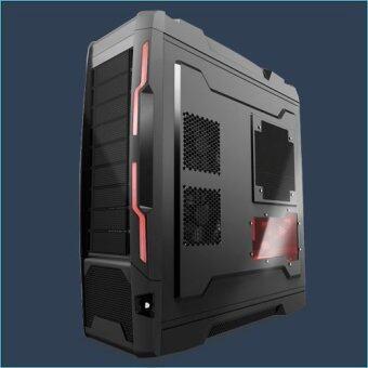 VENUZ Full Tower Gaming Computer Caseรุ่นVC701 - Black
