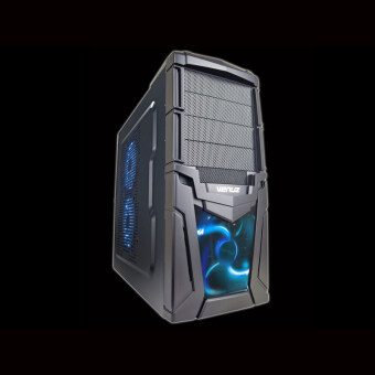 VENUZ Mid Tower Gaming Computer Case VC102 - Blue