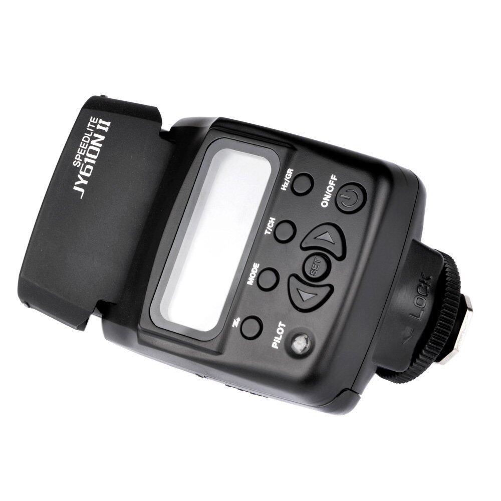 Viltrox JY-610N II i-TTL บนกล้องแฟลชมินิ Speedlite สำหรับ NikonD3300 D5300 D7100 กล้อง Outdoorfree