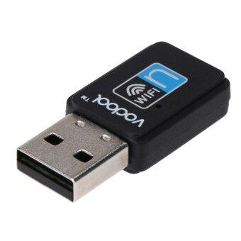 Vodool Mini USB Wifi Wireless Lan Network Internet Adapter(Black) -intl