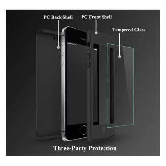 VORSON 360 Degree Protection เคสประกบ ของแท้ สีดำ สำหรับ iPhone5/5s/se (Black) (image 1)