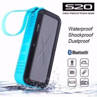W-KING S20 Outdoor Waterproof Wireless Speaker ลำโพงบลูทูธกันน้ำ