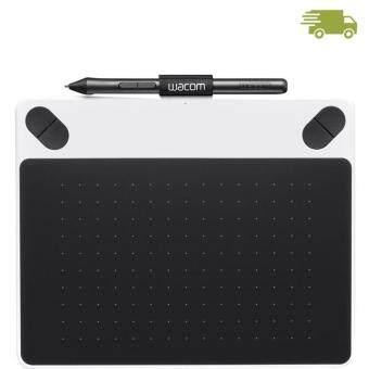 ประเทศไทย WACOM Intuos Draw Pen Small White CTL-490/W0-C (White) ส่งไว1-3วันทำการ ประกันศูนย์1ปี