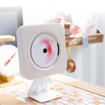Wall Mounted CD Player Portable Turntable Home FM Radio CD Audio Prenatal Education Early Learning English Bluetooth Speaker - intl