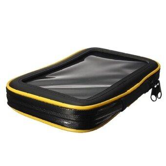เปรียบเทียบราคา Waterproof Motor Bicycle Bike Handlebar Mount Holder Case Bag ForiPad Mini 1 2