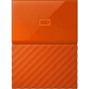WD HDD Ext 1TB My Passport (NEW) 2.5 USB3.0 Orange