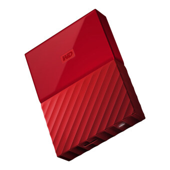 WD My Passport 2017 2TB (Red) (WDBYFT0020BRD-WESN)