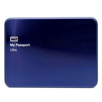 สนใจซื้อ WD MY PASSPORT ULTRA 1TB Metal Edition (WDBTYH0010BBA) - Blue Black