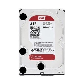 WD Red ฮาร์ดดิส 3.5\ NAS Hard Drives SATA III 64MB - HDD 3TB\n(WD30EFRX)