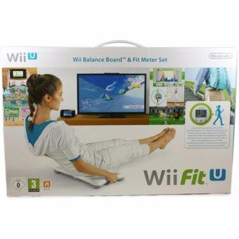 Harga WII FIT U & BALANCE BOARD (WHITE) & FIT METER (GREEN) (US)