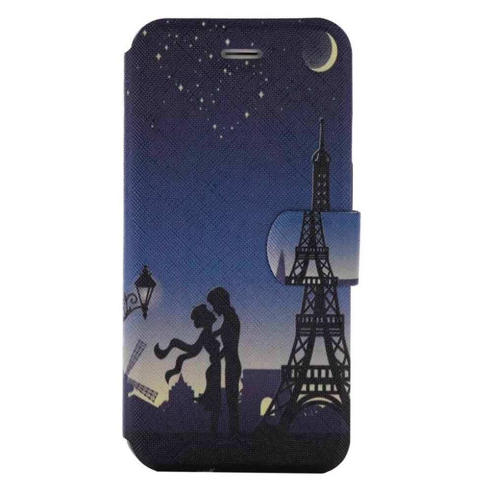 RUILEAN Flip Leather Case For Sony Xperia XZ XR Pisa Tower Wallet Card Slots Kickstand Cover