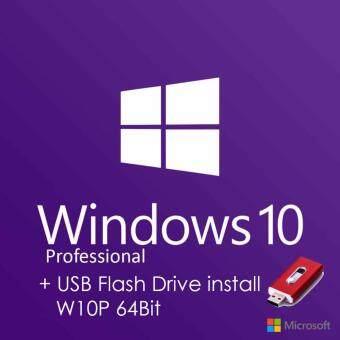 WINDOWS 8/10 PRO 32/64Bit + USB ตัวติดตั้ง W10 Pro 64 Bit