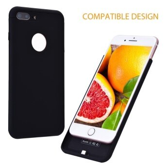 Wireless Phone Charger Receiver Charging Case Cover for iPhone 6Plus / 6S Plus (Black) - intl