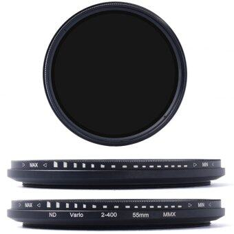 ... XCSource ฟิลเตอร์ ขนาด 55mm Fader Neutral Density AdjustableVariable ND Filter ND2 to ND400 Case ...