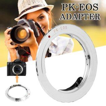 XCSource อะแดปเตอร์เลนส์ AF Confirm Pentax K PK Lens to Canon EOS EF Mount Adapter 600D 60D 1100D