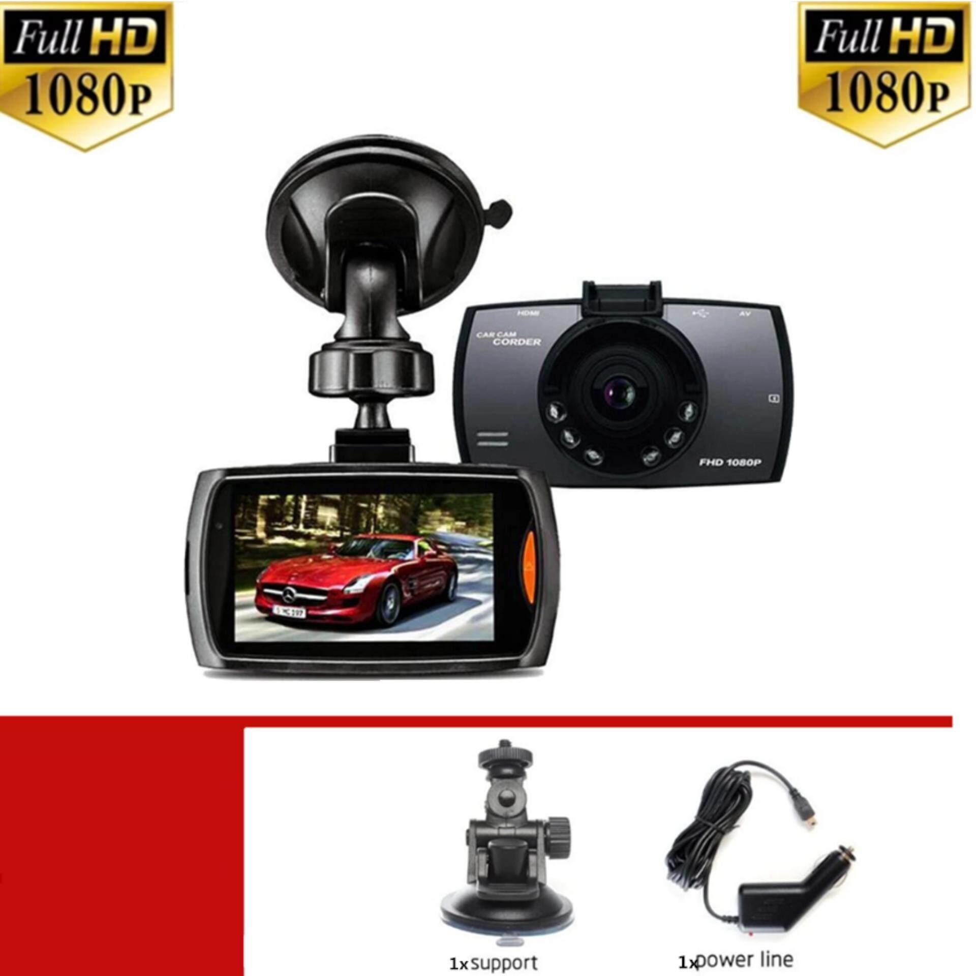 XCSource กล้องติดรถยนต์ G30 รองรับการถ่ายโหมดกลางคืน 170° 1080P(black)1ชิ้น