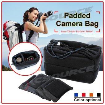 XCSource กระเป๋ากล้อง สำหรับ Nikon DSLR Lens (สีดำ)