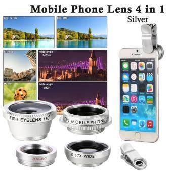 XCSource เลนส์ติดกล้องโทรศัพท์ Wide Angle+ Fish Eye+ Macro CPL Lens Small สำหรับ iPhone 5S Samsung S4 i9600