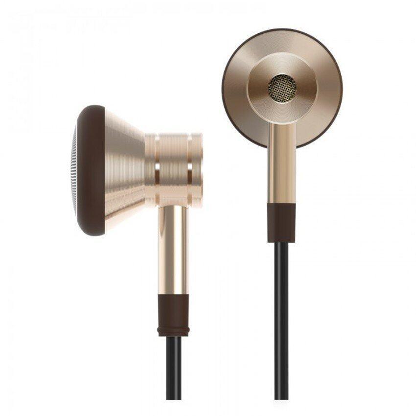 ยี่ห้อไหนดี  ชัยภูมิ Xiaomi หูฟัง Earbud Balanced Dual-damping รุ่น1More (Gold)