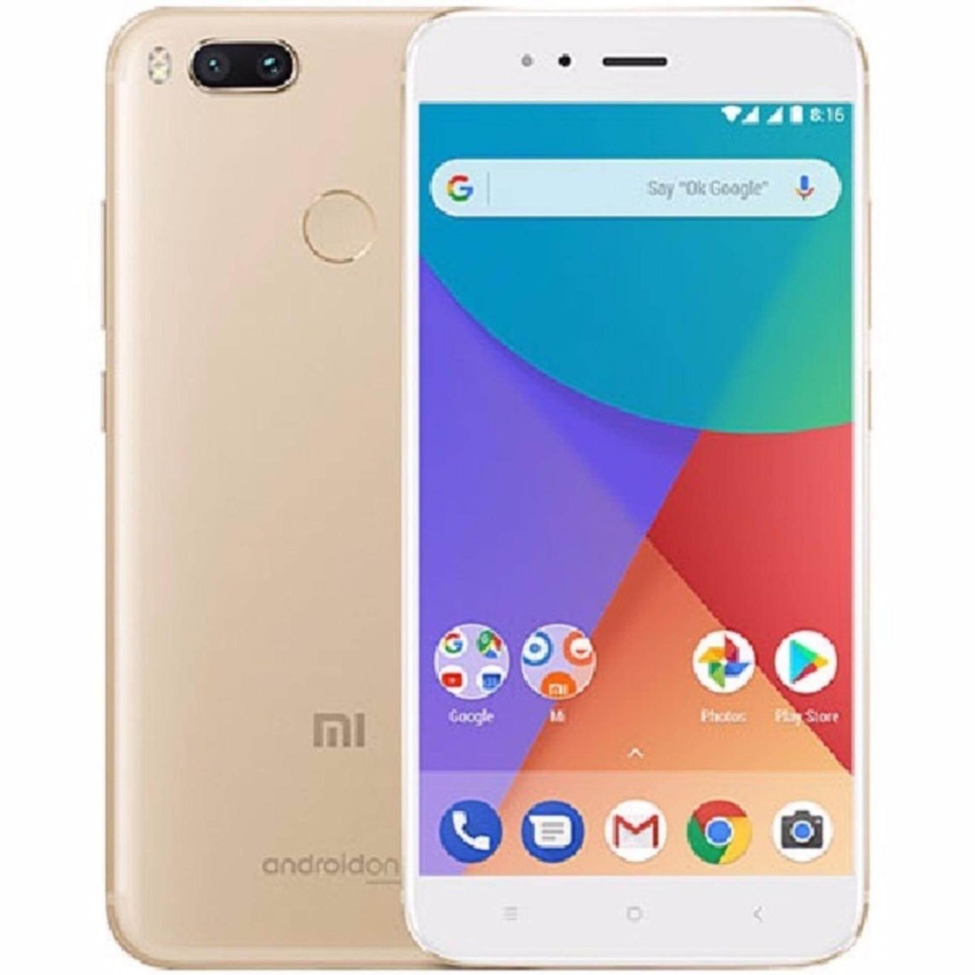 สอนใช้งาน  กำแพงเพชร Xiaomi Mi A1 Dual Sim 64GB LTE (Gold) - Android One - intl