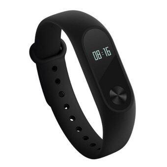 Xiaomi Mi Band 2 bracelet OLED with Heart rate Sensor SmartBluetooth Wristband (Black)