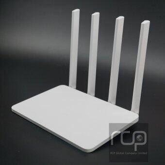 Xiaomi Mi Router R3 (รับประกัน 1 ปี, แถมฟรี Wall Mount ติดผนัง)White English Factory Version