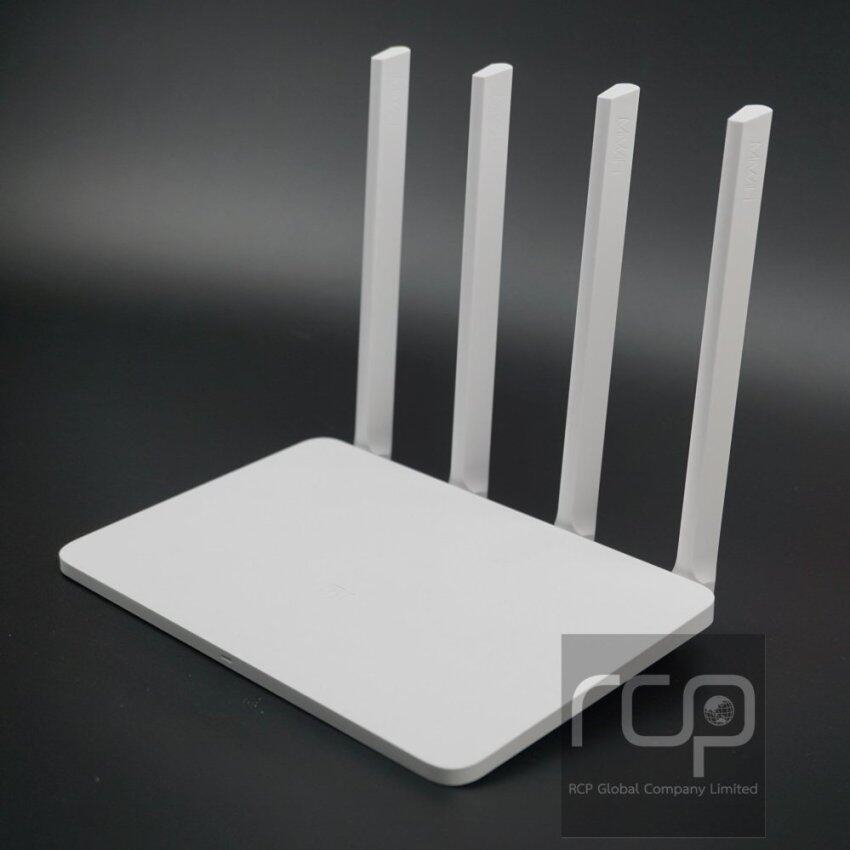 Xiaomi Mi Router R3 (รับประกัน 1 ปี, แถมฟรี Wall Mount ติดผนัง) White English Factory Version