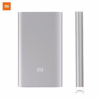 Xiaomi แบตสำรอง Power Bank 10000 mAh รุ่น PLM02ZM (Silver) (image 0)
