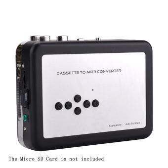 YH Cassette tape Converter USB Cassette Tape Player Seamlessly Converted Audio Cassette to MP3 File Save In Micro SD Card ezcap232 - intl