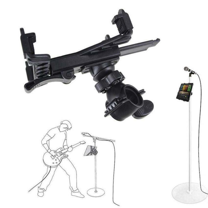 YBC Microphone Stand Holder Mount For 7 to 11inch Tablet iPad Air 54 3 2 Samsung - intl