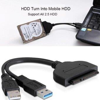 YBC USB 3.0 to 2.5 inch SATA Hard Drive Cable Adapter forSSD&HDD - intl
