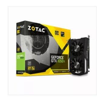 ZOTAC GeForce GTX 1050Ti O.C Daul silence 4GB GDDR5 Graphic cards /1392 MHz / 128-bit / Dual-Link - intl