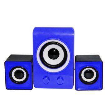 ZS ลำโพง USB Multimedia Speaker Micro 2.1 รุ่น LX311 (สีฟ้า)