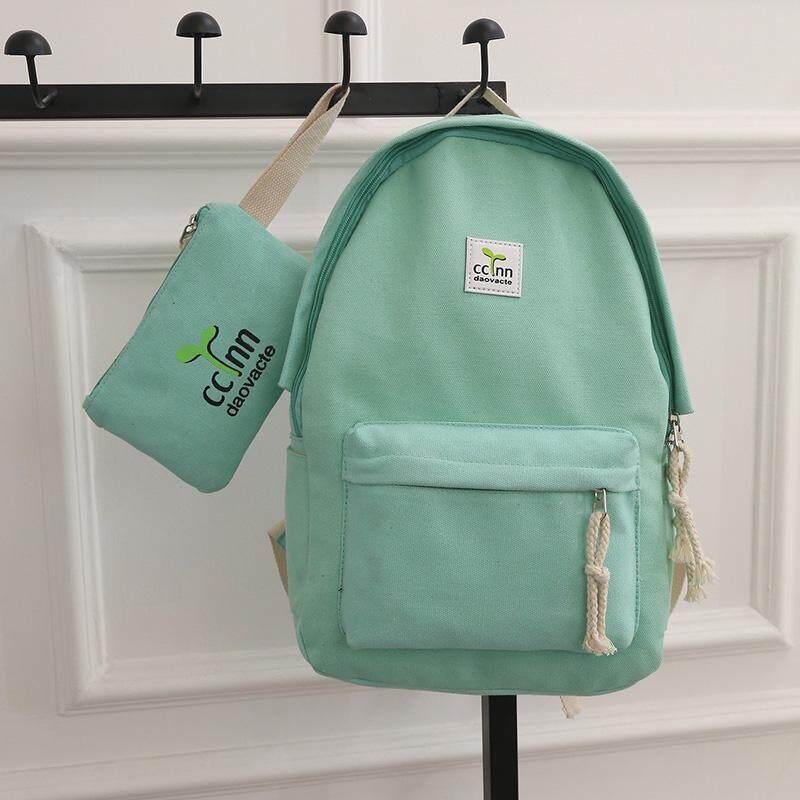 กระเป๋าเป้ นักเรียน ผู้หญิง วัยรุ่น อ่างทอง กระเป๋าเป้สะพายหลังแฟชั่น สกรีน กระเป๋าแฟชั่น กระเป๋าเดินทางสตรีท กระเป๋าถือสตรี Women s fashion bag Backpacks