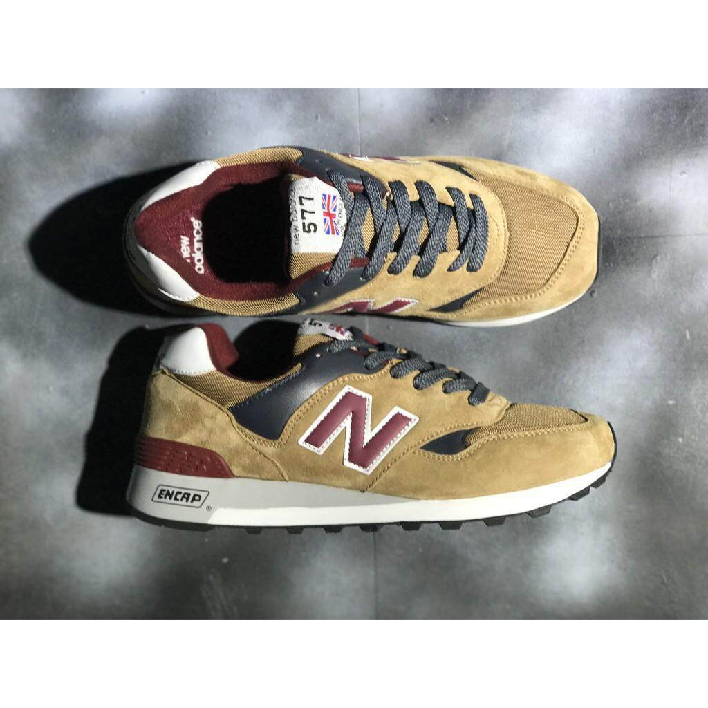 สอนใช้งาน  แพร่ original_new_balance_577_nb577_wheat_brown_color_for_men_wmn_sport_running_shoe