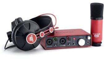 Focusrite Scarlett Studio (Black/Red)