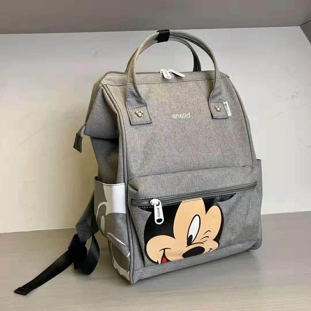 ยี่ห้อไหนดี  บุรีรัมย์ กระเป๋า Anello Đisnēy 2019 Polyester Canvas Backpack Limited Edition