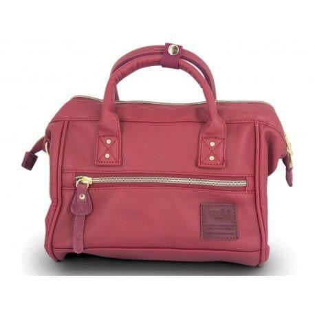 สอนใช้งาน  ชัยภูมิ กระเป๋าถือ Anello PU Leather Mini Size 2 Way - Japan Imported 100%