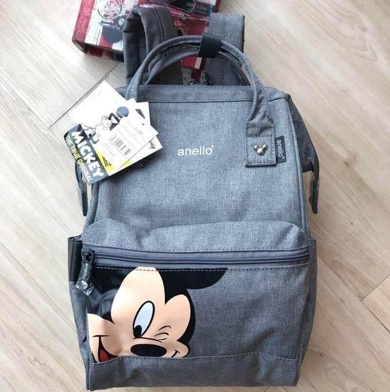 ยี่ห้อนี้ดีไหม  พะเยา พร้อมส่ง Anello Đisnēy 2019 Polyester Canvas Backpack Limited