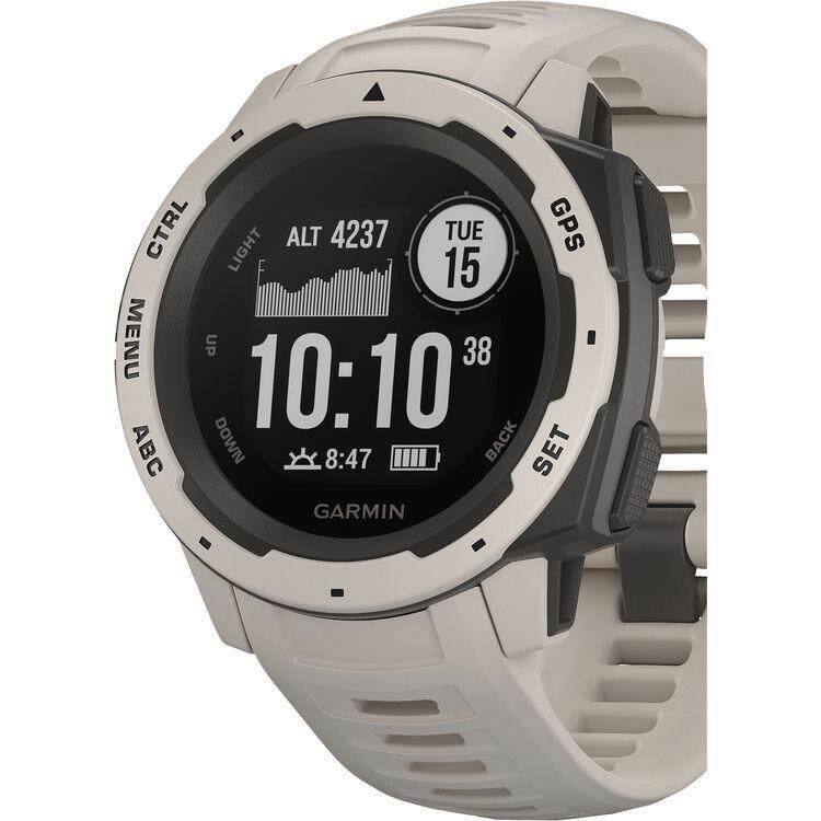 ปัตตานี Garmin Instinct Outdoor GPS Watch - [Tundra]