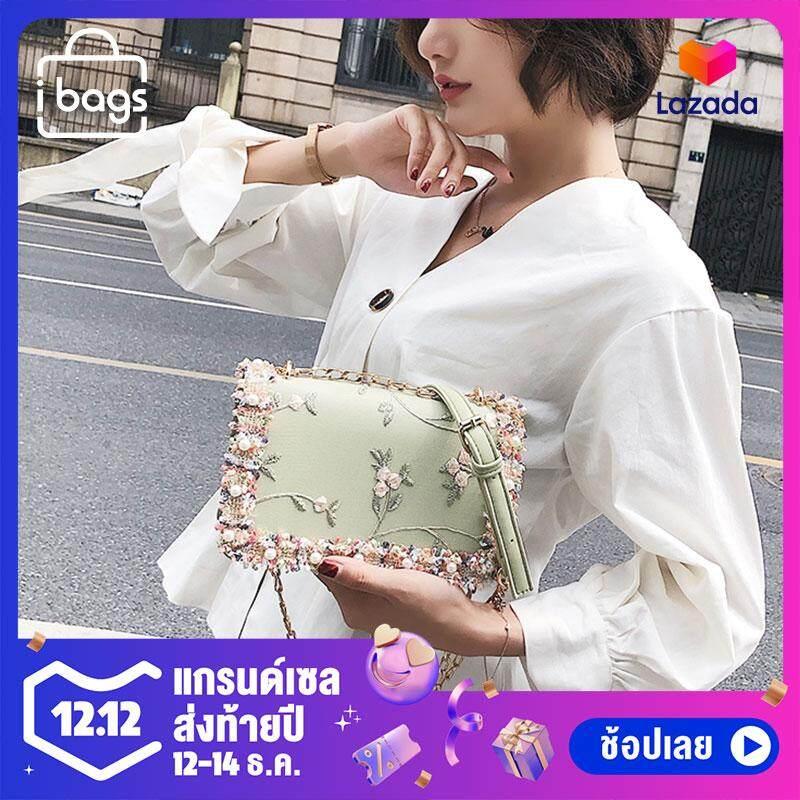 กระเป๋าสะพายพาดลำตัว นักเรียน ผู้หญิง วัยรุ่น กำแพงเพชร CYR005 กระเป๋าสะพายข้างน่ารักสำหรับผู้หญิง ทำจากหนัง PU สไตล์เกาหลี เรียบหรูแต่คุณหนูมากๆ