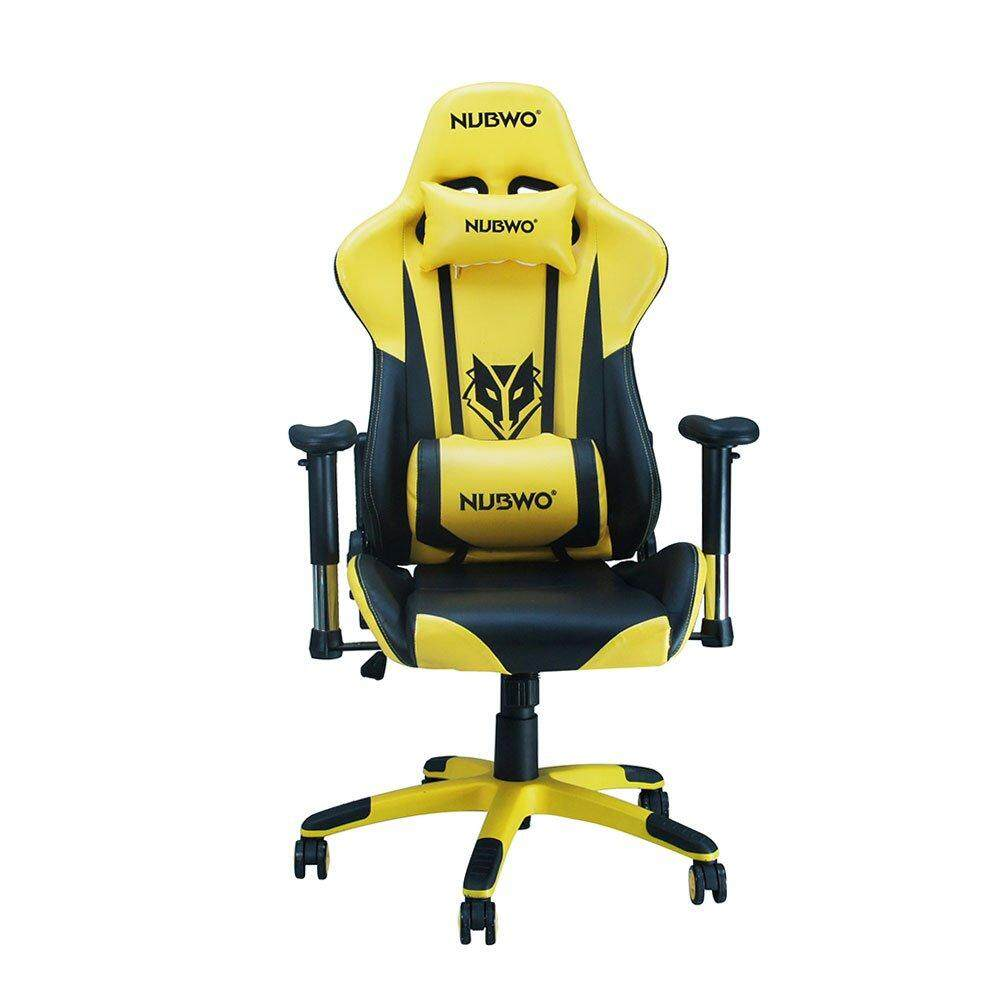 การใช้งาน  GAMING CHAIR (เก้าอี้เกมมิ่ง) NUBWO EMPEROR SERIES NUB-CH007 (YELLOW) gaming chair video game chair best gaming chair x rocker gaming chair pc gaming chair rocker gaming chair gaming seat gaming chair with speakers computer gaming chair che