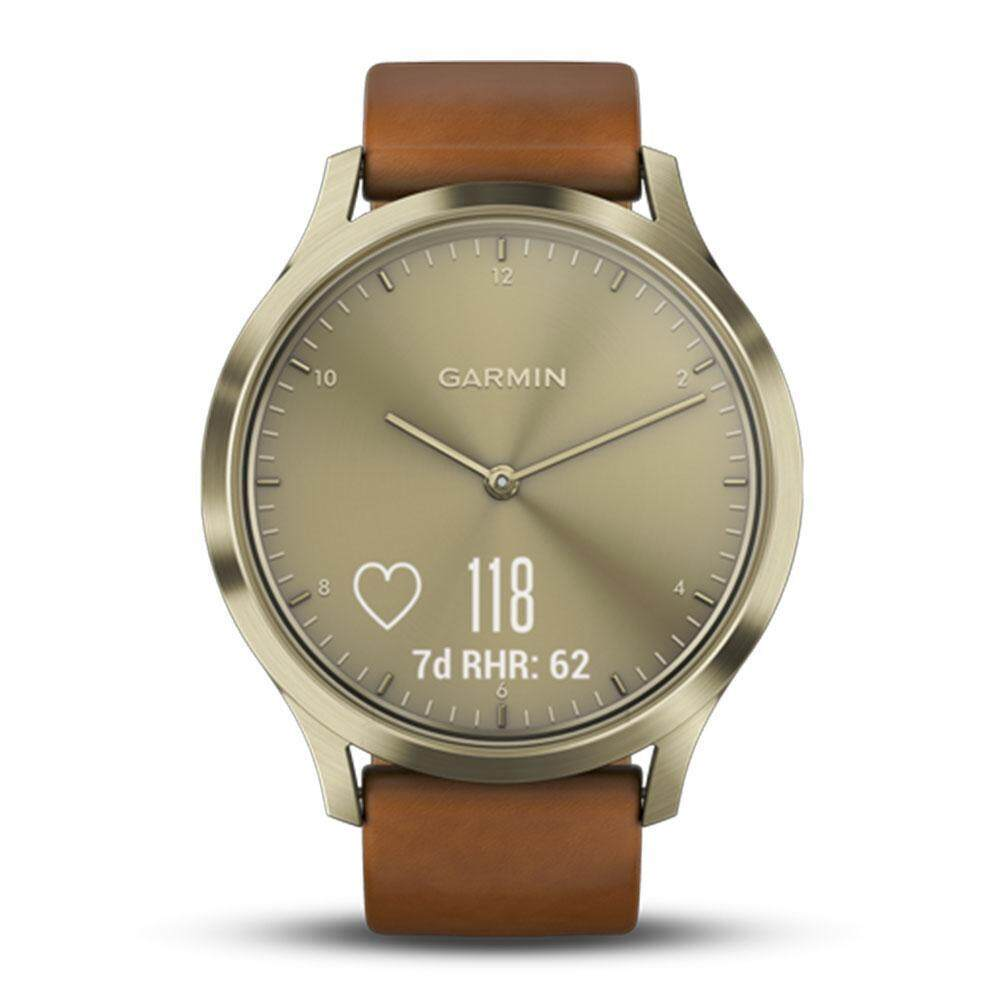 ยี่ห้อไหนดี  ตาก Garmin Vivomove GM-010-01850-95 Smart Digital Brown Silicone Unisex Smartwatch