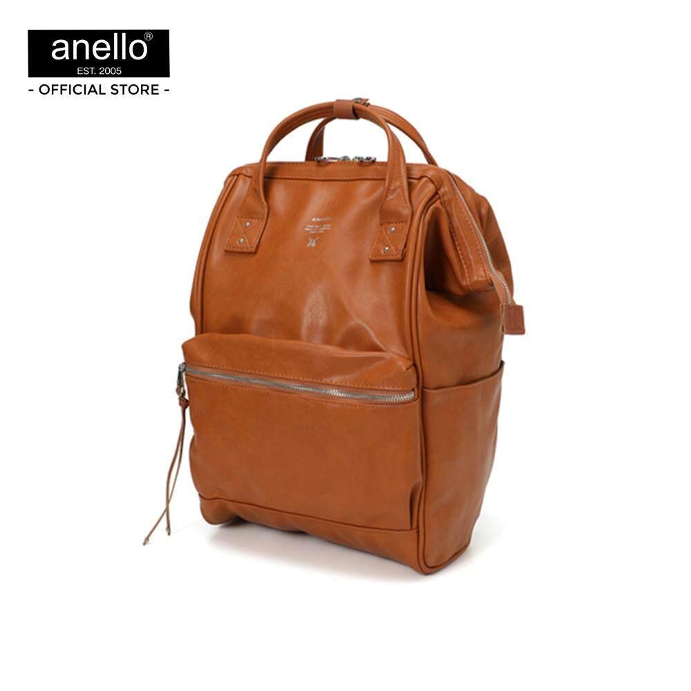 ยี่ห้อไหนดี  เชียงใหม่ กระเป๋า anello  Premium Mouthpiece Regular Backpack_AT-B1519-CA
