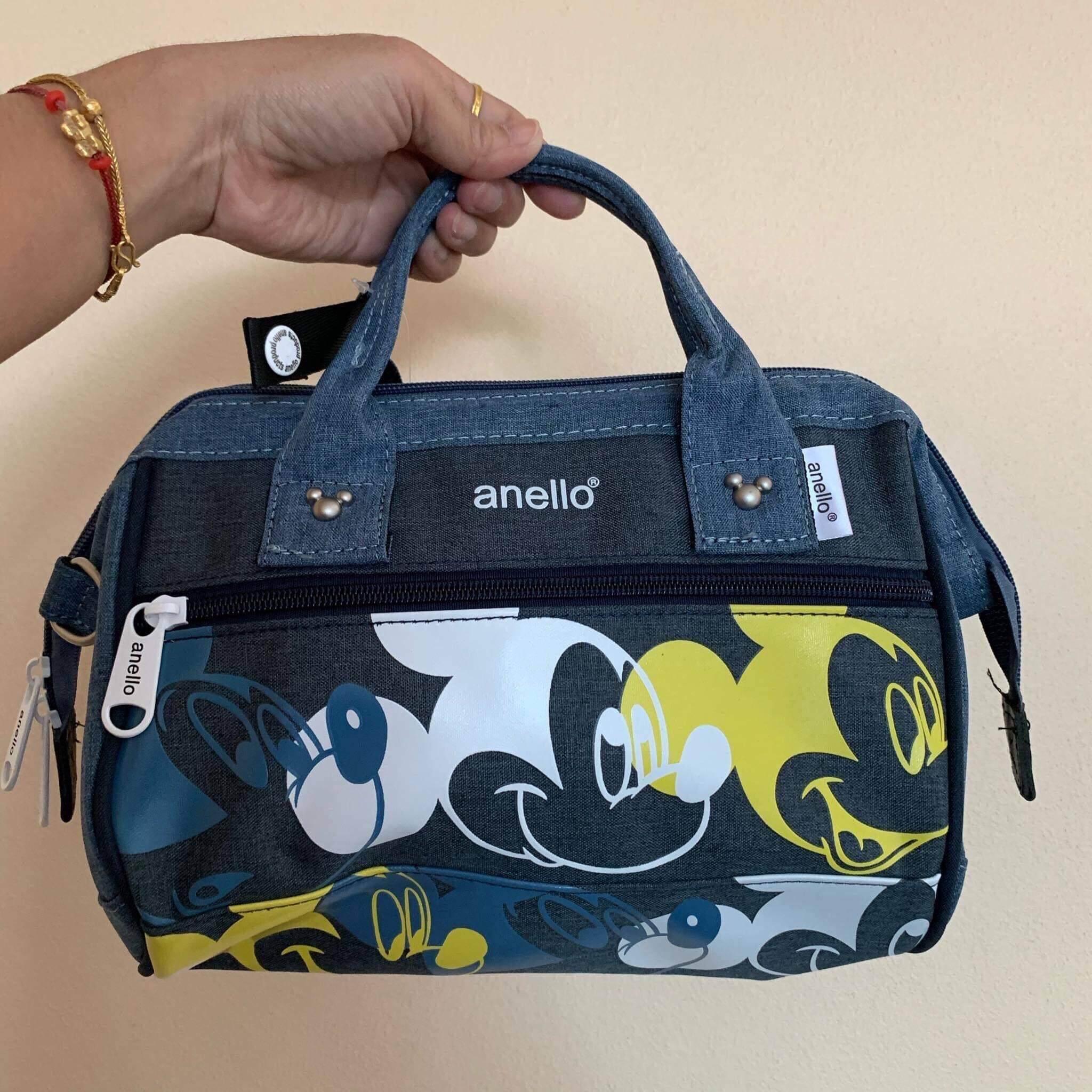 กระเป๋าถือ นักเรียน ผู้หญิง วัยรุ่น สงขลา กระเป๋าถือ anello ลายมิกกี้