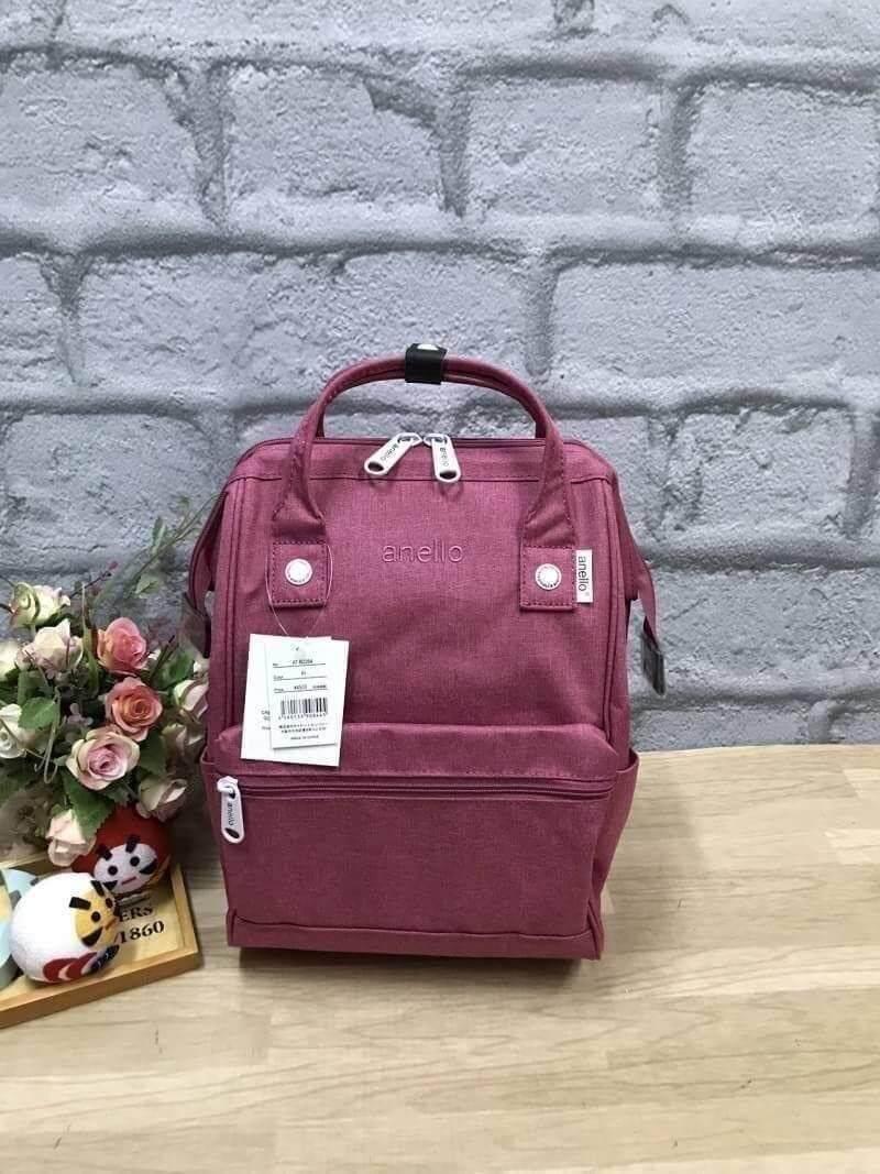 ยี่ห้อนี้ดีไหม  พิจิตร Anello Mottled Polyester Mini Backpack BH082303