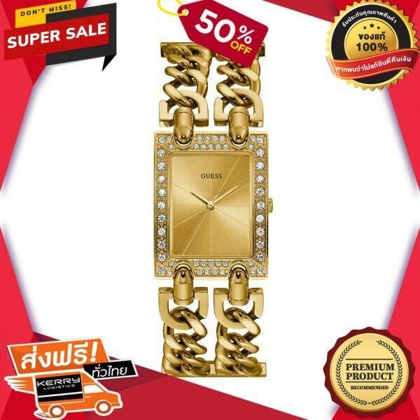 นาฬิกาข้อมือคุณผู้หญิง GUESS นาฬิกาข้อมือผู้หญิง MOD HEAVY METAL รุ่น W1121L2 สีทอง ของแท้ 100% สินค้าขายดี จัดส่งฟรี Kerry!! ศูนย์รวม นาฬิกา casio นาฬิกาผู้หญิง นาฬิกาผู้ชาย นาฬิกา seiko นาฬิกาข้อมื