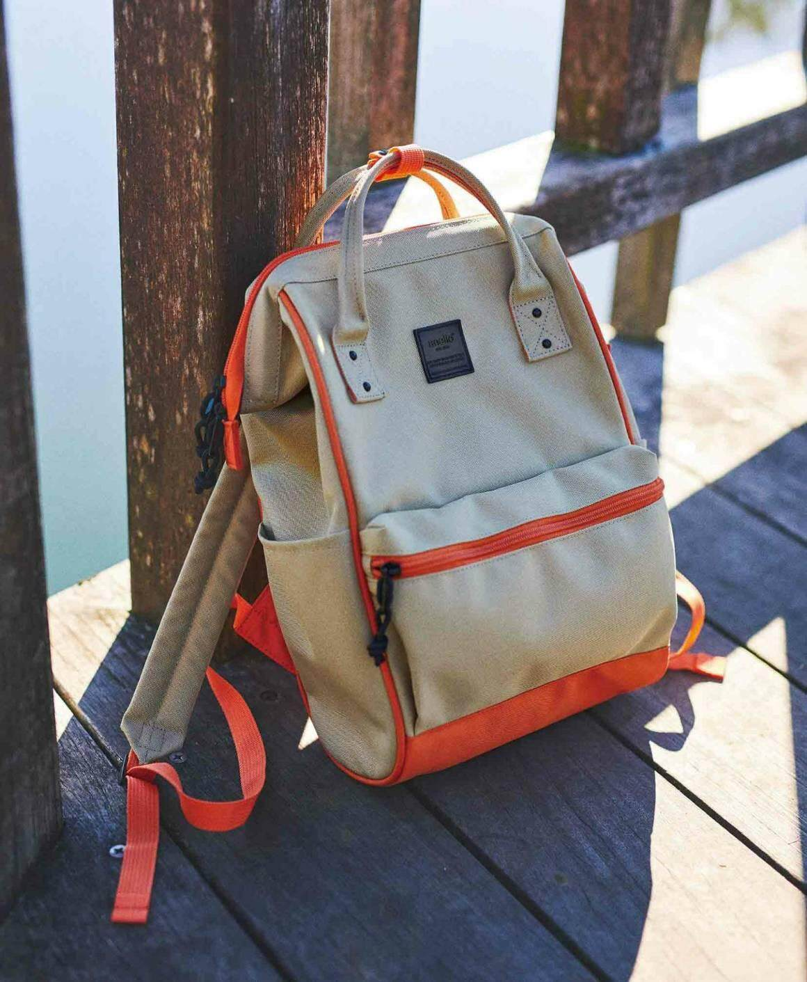 พะเยา Anello Mini S/N Small classic Slim rucksack AT-B3092